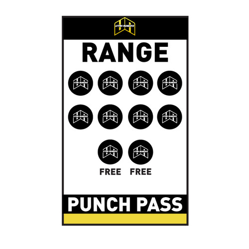 Range 10-Punch Pass