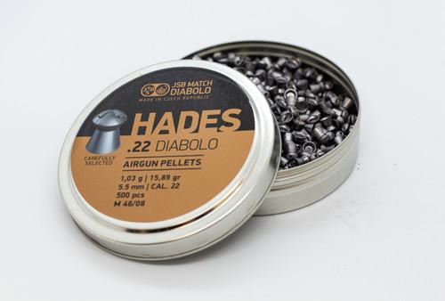 JSB Hades .22 | 15.89gr | 500 ct.