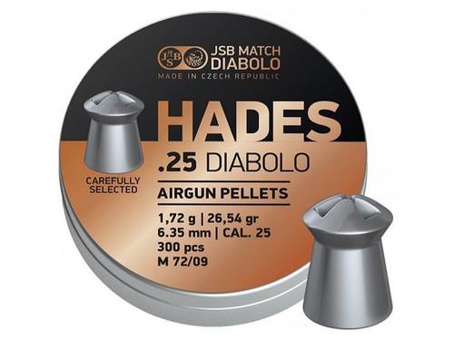 JSB Hades .25 | 26.54gr | 300 ct.