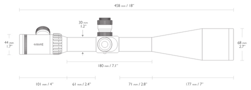 Hawke Sidewinder ED 10-50x60 (TMX)
