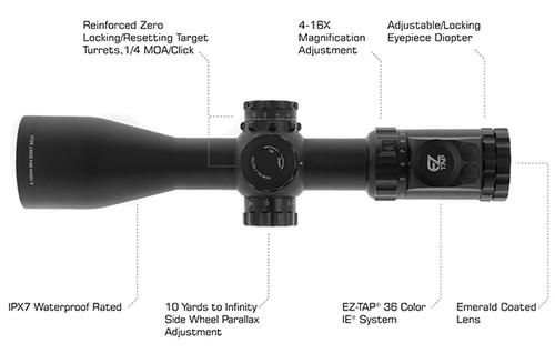 UTG OP3 4-16X44 30mm Compact Scope
