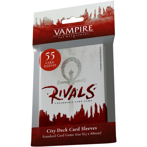 Vampire: The Masquerade Rivals Expandable Card Game City Deck Sleeves
