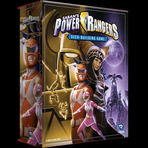 Power Rangers Deck-Building Game 3D box