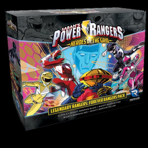 Legendary Rangers Forever Rangers Pack Box