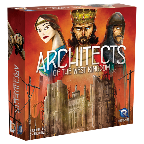Architects of the West Kingdoms 3D box