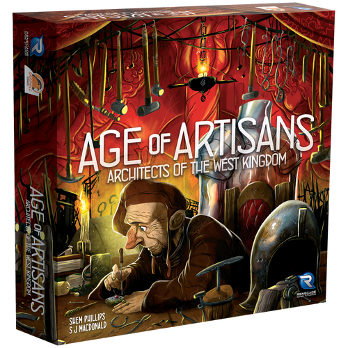Architects of the West Kingdom Age of Artistans 3D box
