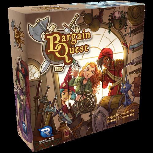 Bargain Quest 3D box