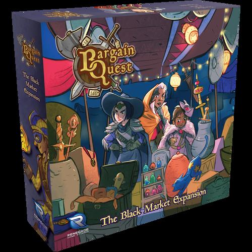 Bargain Quest Black Market 3d box