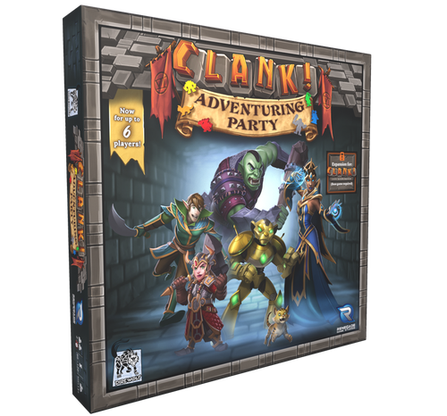 Clank! Adventuring Party 3d
