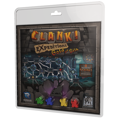 Clank! Expeditions Gold and Silk 3d  box