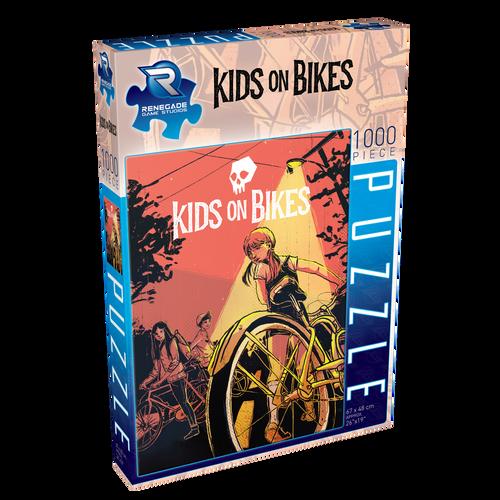 Jigsaw Puzzle - Kids on Bikes