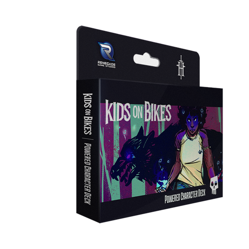 Kids on Bikes Powered Character Deck 3d box