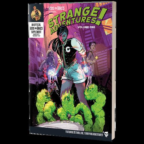 Kids on Bikes Strange Adventures Vol 1 3d box