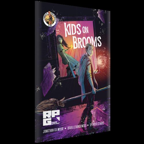 Kids on Brooms 3d box