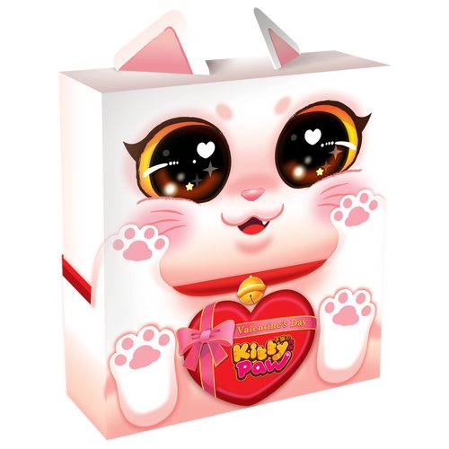 Kitty Paw Valentine's Day Edition 3d Box