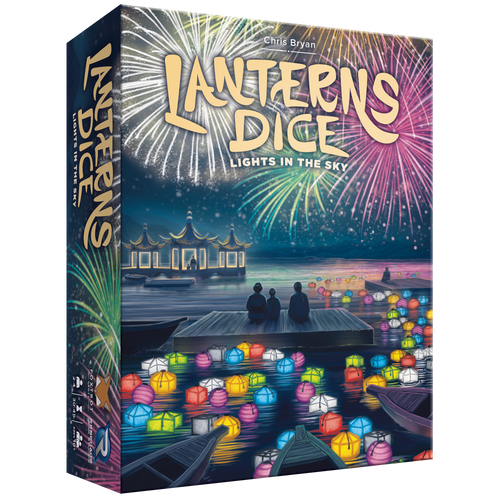 Lanterns Dice: Lights in the Sky 3d Box