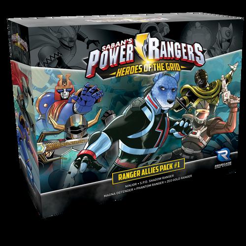 Power Ranger: Ranger Allies Pack #1 3d