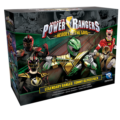 Power Rangers: Heroes of the Grid Legendary Rangers Tommy Oliver Pack 3d