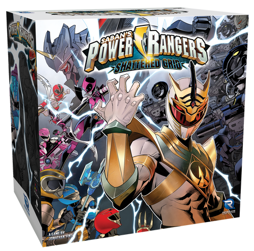 Power Rangers: Heroes of the Grid Shattered Grid Expansion 3d box