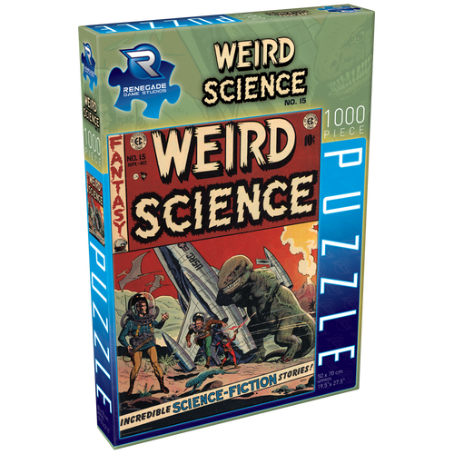 Jigsaw Puzzle EC Comics Weird Science No. 15