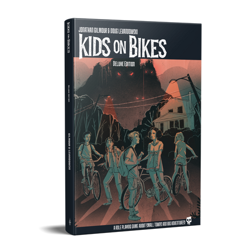 Kids on Bikes: Deluxe Hardcover Edition