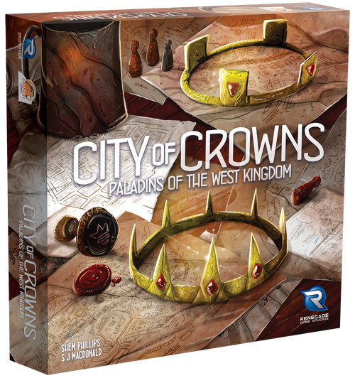 Paladins of the West Kingdom City of Crowns - Pre-Order