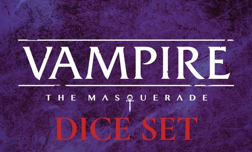 Vampire: The Masquerade Dice Set