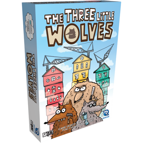 The Three Little Wolves Pre Order