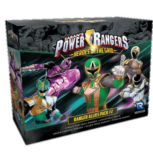 Power Rangers: Heroes of the Grid Ranger Allies Pack #2 Pre-Order