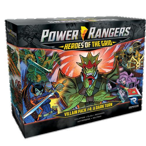 Power Rangers: Heroes of the Grid Villain Pack #4 Pre-Order