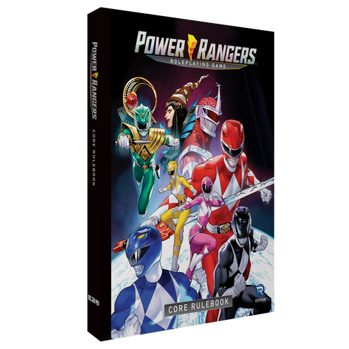 Power Rangers Roleplaying Game Core Rulebook Pre-Order