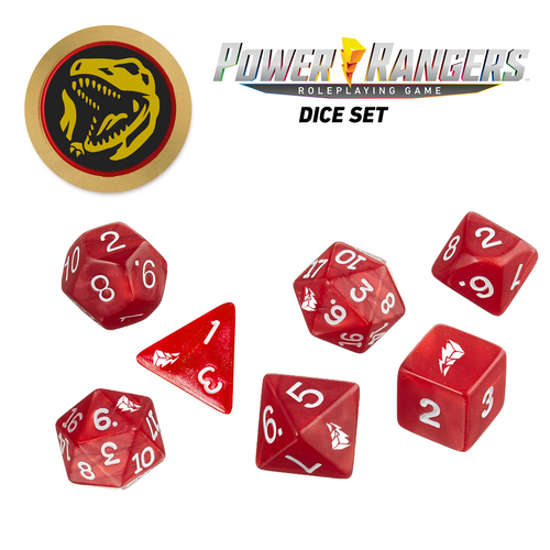 Power Rangers Roleplaying Game Dice Pre-Order