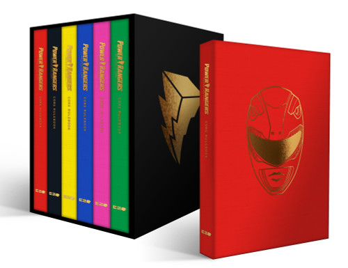 Power Rangers Roleplaying Game Deluxe 6-Player Core Rulebook Set Pre-Order