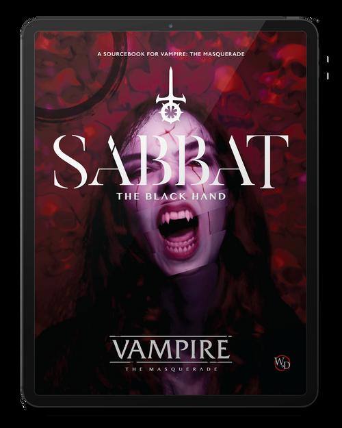 PDF Sabbat: The Black Hand Vampire: The Masquerade Roleplaying Game