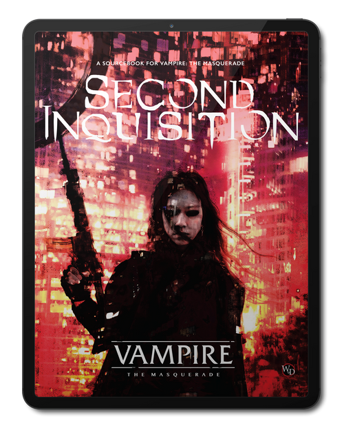 PDF Second Inquisition Vampire: The Masquerade Roleplaying Game Pre-Order
