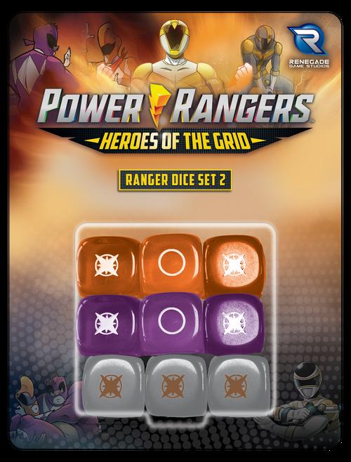 Power Rangers: Heroes of the Grid Ranger Dice Set #2 Pre-Order