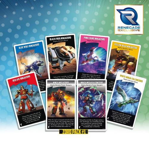 Power Rangers: Heroes of the Grid Zord Pack #1 Pre-Order