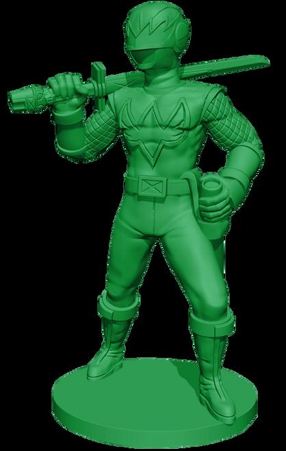 Power Rangers: Heroes of the Grid Green Samurai Ranger Promo