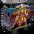 Power Rangers: Heroes of the Grid Mega Goldar Deluxe Figure 3d box