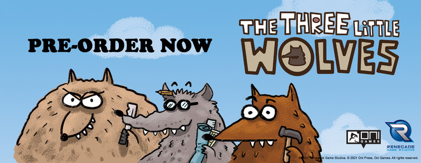 Announcing Three Little Wolves!