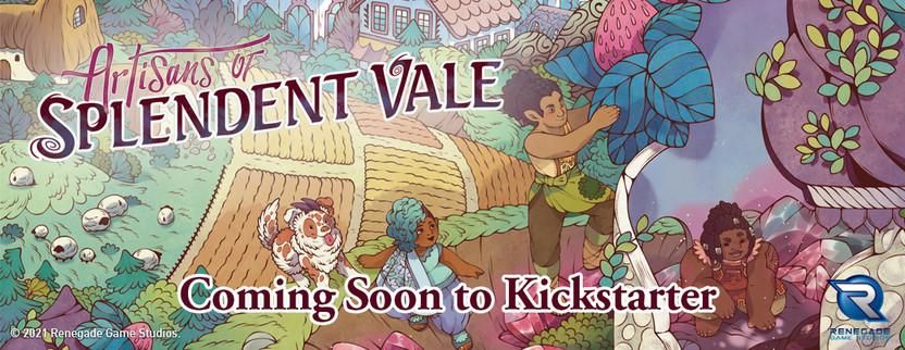 Announcing Artisans of Splendent Vale, Coming to Kickstarter this September!
