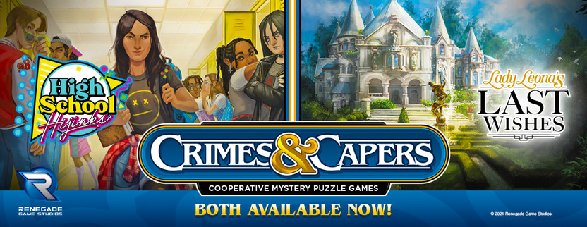 Help Solve the Mystery - Crimes & Capers Available at Gen Con!