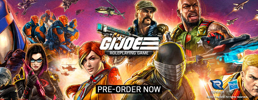Announcing the G.I. JOE Roleplaying Game!