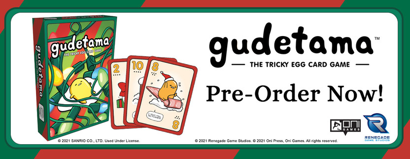 Announcing Gudetama The Tricky Egg Card Game Holiday Edition!