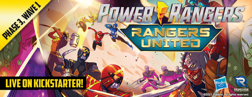 Power Rangers Heroes of the Grid: Rangers United is now Live on Kickstarter!