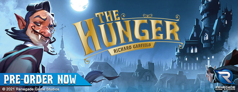 Announcing The Hunger, a new game by Richard Garfield!