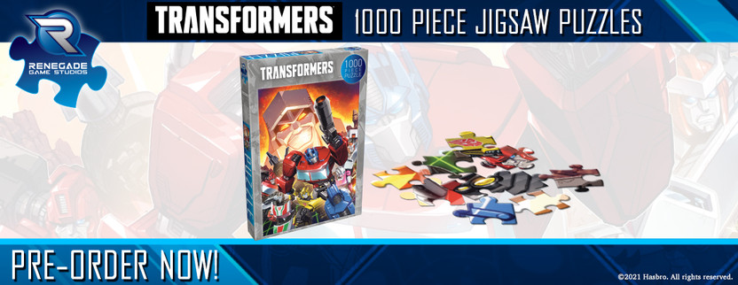 Announcing the Transformers Jigsaw Puzzle!