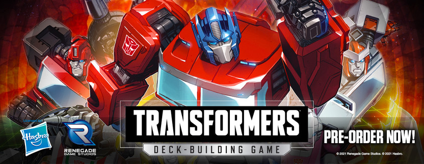 It's in the Title! Transforming in the Transformers Deck-Building Game