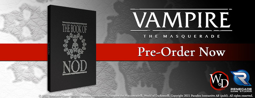 Announcing four new products for Vampire: The Masquerade 5th Edition!