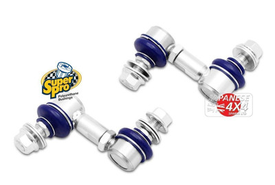 Super Pro Heavy Duty Adjustable Front Stabiliser Links for Nissan X-Trail T30 2001-2007